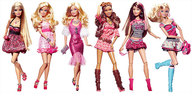 Barbie Fashionistas photo contribution by Charles Roark (Flickr cc)